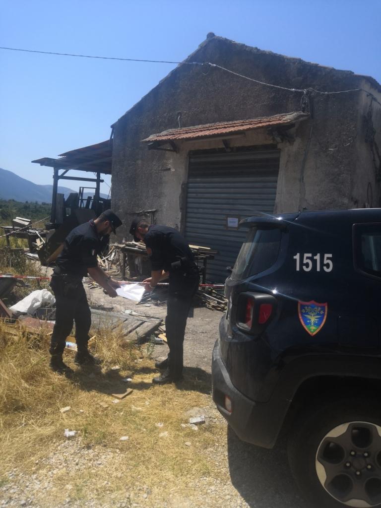 Smaltimento Rifiuti Sessa Aurunca sessa aurunca: carabinieri forestali sottopongono a